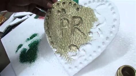 How to Write Letter By Thermocol and Wedding Decoration