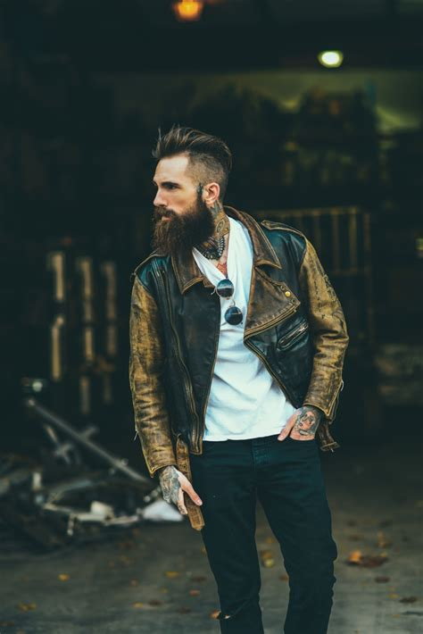 Leather Nyc by Leather Jacket 215 Beard Nyc Soletopia