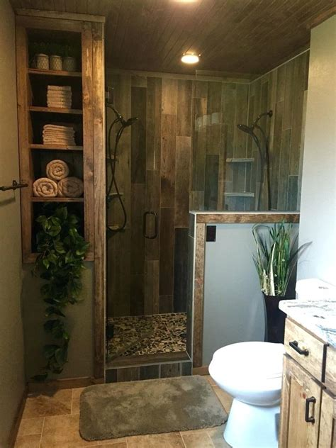 Custom Bathroom Designs by 94 Rustic Master Shower Ideas Ideas Home Design
