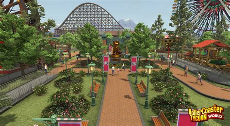 roller coaster world rollercoaster tycoon world adds what fans want