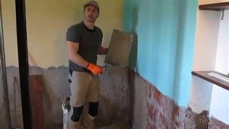 come ripristinare un muro umido
