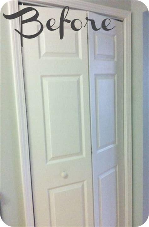 Bathroom Linen Closet Doors How To Turn A Bi Fold Door Into A Door Doors Linen Closets And Doors