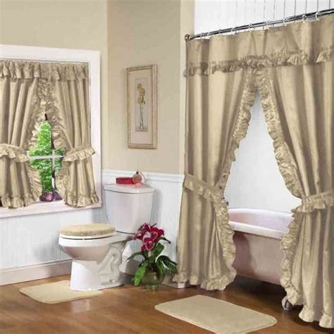 shower curtain with matching window curtain 12 best double swag shower curtains and matching window