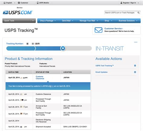 Usps Search Usps Tracking Certified Mail