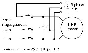 operation of capacitor run induction motor tesla polyphase induction motors electronics forums