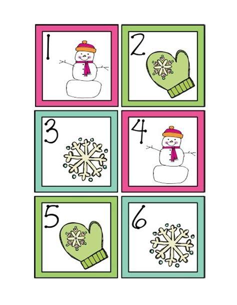 Nopatterns January 2012 | january calendar cards freebie creating teaching