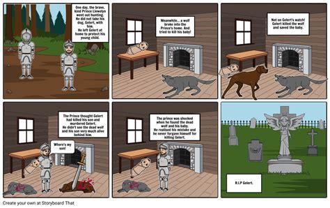 who was story story of gelert storyboard by mrdavies78
