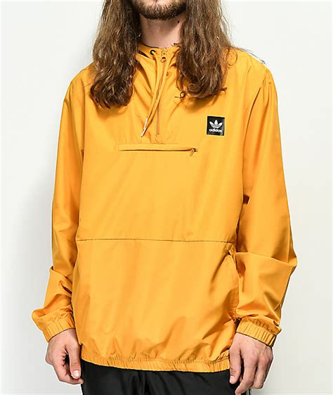 Hip Yellow adidas hip yellow anorak jacket zumiez