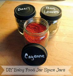 diy magnetic spice rack baby food jars 1000 ideas about magnetic spice jars on spice storage magnetic spice racks and