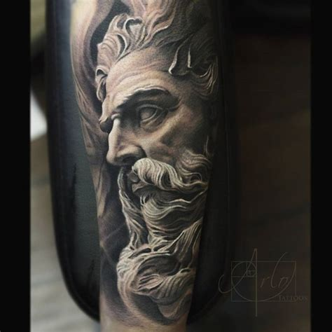 zeus tattoo 25 best ideas about religious sleeves on