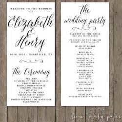 What Goes On A Wedding Program 17 Best Ideas About Wedding Programs On Pinterest Wording For Wedding Invitations Wedding