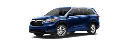 Toyota Highlander Trim Levels New 2016 Toyota Highlander Features And Specs