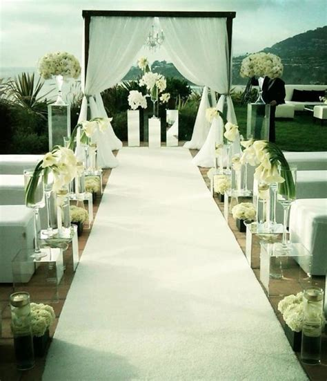wedding inspiration an outdoor ceremony aisle wedding bells 134 best pillars for wedding images on floral