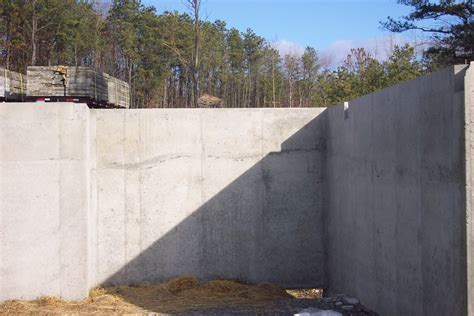 the seams on a sted concrete wall disappear when the concrete foundation question internachi