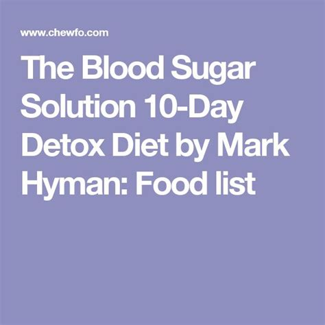 Blood Sugar Solution 10 Day Detox Supplements by Best 20 Diabetic Food List Ideas On Diabetic