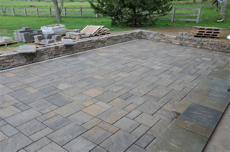 How To Install Paver Patio And Paver Installation Andrew Watkins Custom Homebuilding Inc