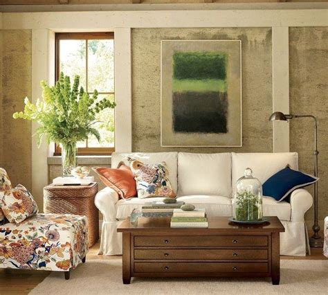 pottery barn style living room ideas sofas and living rooms ideas with a vintage touch from pottery barn freshome