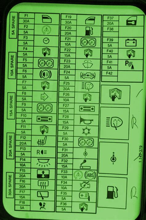 2003 mini cooper r50 dash fuse box diagram circuit