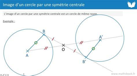 Une Hutte Définition by Image D Un Cercle Par Une Sym 233 Trie Centrale Cours De