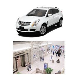 Cadillac Giveaway - enter now and you could win a 50 000 shopping spree at mall of america 174 plus a 2014
