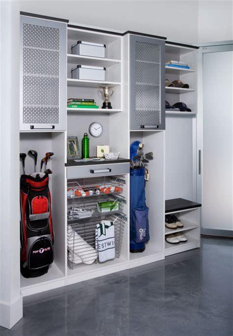 Garage Storage Golf Golf Storage Unit Modern Garage New York By