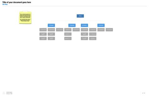 site map template diagram style for sitemaps picture to pin on