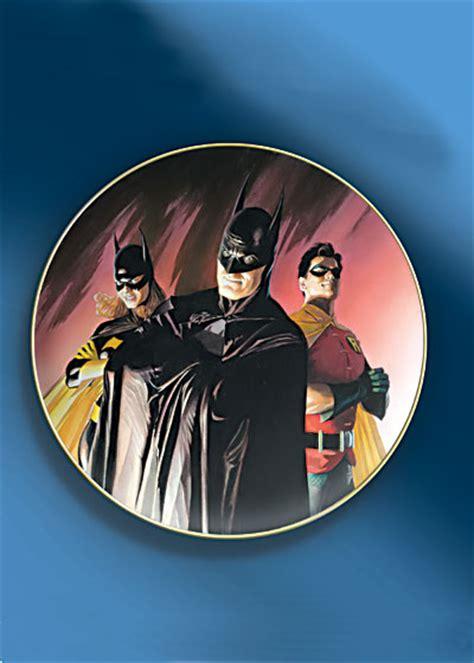 Family Batman Gold Foil Ds4519 the batman family collector s plate