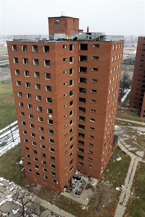 brewster douglass housing projects demo begins on storied high rises at brewster douglass housing projects