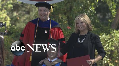 Marty O Connor Mba by Receives Diploma