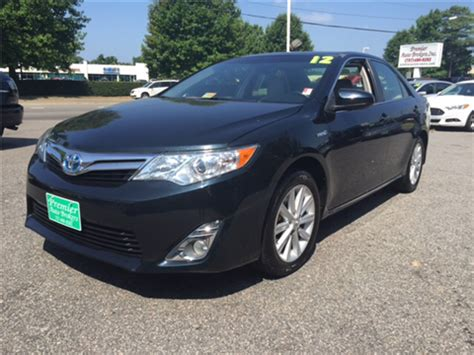 2012 toyota camry hybrid for sale toyota camry hybrid for sale virginia va