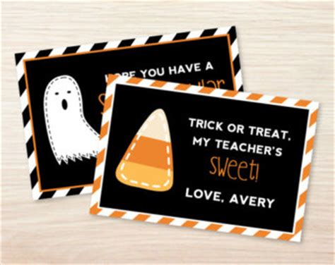 halloween teacher gift tags festival collections