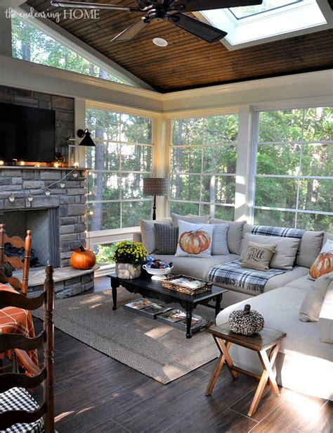 fall porch tour