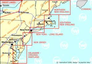 interactive map of us east coast east surfing in east united states of