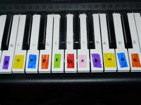 piano color learning the piano with lego duplos and color coded