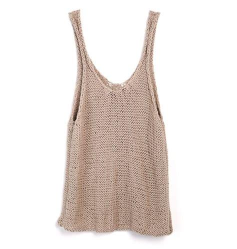 Knit Tank by Knitted Tank Top Knit Knit Knit Knitted