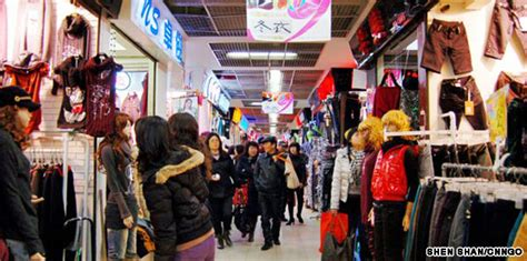 In The Fashion Marketplace by Shanghai To Convert The Qipu Lu Market Cnn Travel