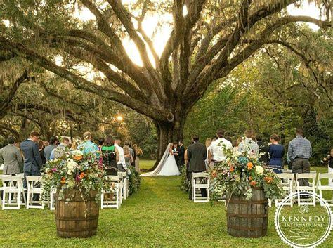 eden gardens state park oak tree fall wedding outdoor