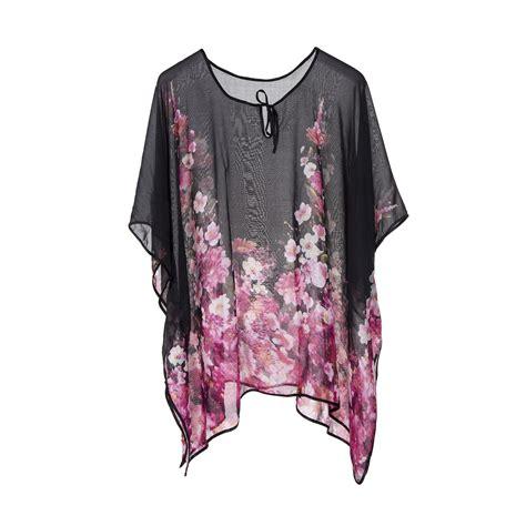 new womens kimono cover up chiffon kaftan poncho top shirt swimwear ebay