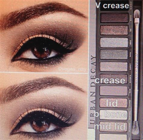 4 Naked4 Decay Eyeshadow Fc steps for smokey brown eye shadow using the decay palette 2 1 prime eye with