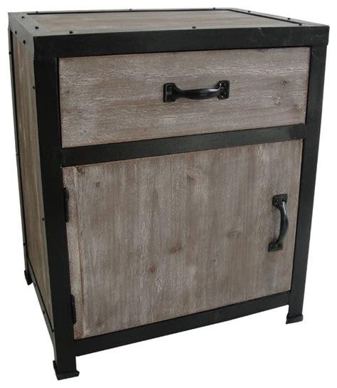 industrial nightstand industrial end talbe modern nightstands and bedside