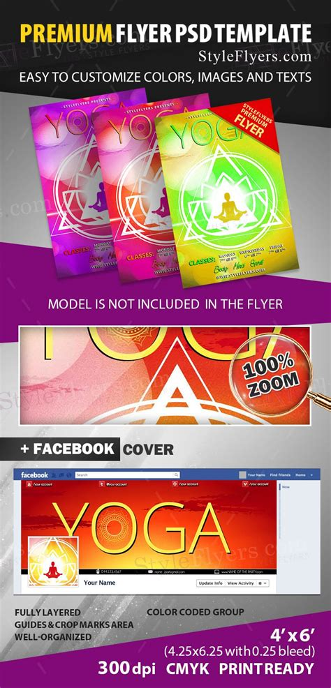 Yoga Psd Flyer Template 11964 Styleflyers Flyer Template 2