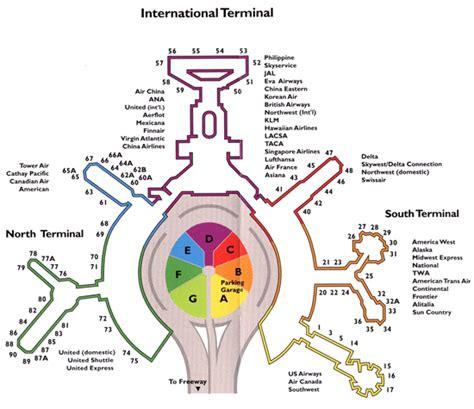 san francisco airport map terminal international terminal san francisco map