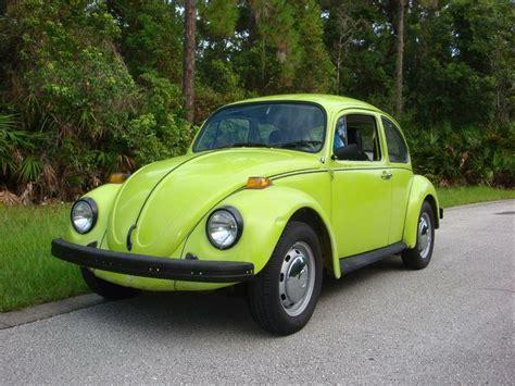 lime green volkswagen beetle beetle in my favorite color lime green slug bugs