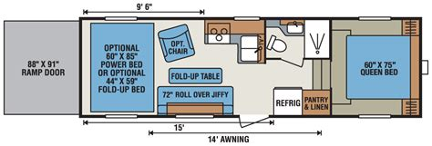 kz toy hauler floor plans 2016 sportsmen sportster 265th fifth wheel toy hauler k z rv