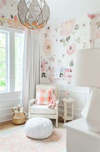 Nursery Decor Wallpaper In The Nursery With Monika Hibbs Project Nursery