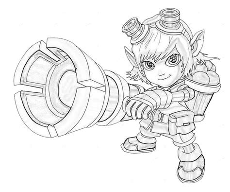 league of legends tristana character temtodasas