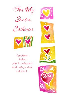 printable birthday cards for a sister for my sister greeting card valentine s day printable