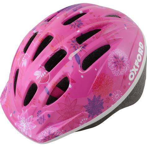 Pink Cycle oxford poppet pink cycle helmet junior bike