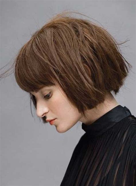 blunt cut hairstyles with bangs 35 new cute short hairstyles for women hairstyles