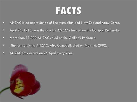 day facts anzac day by manojghimirey